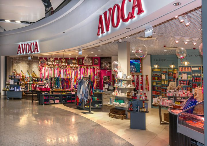 Avoca retail outlet at T2 in Dublin Airport